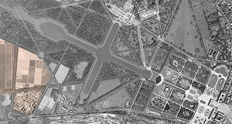 Photo aérienne Versailles